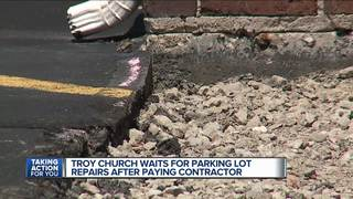 Pastor says contractor hasn't done paid for work