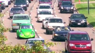WATCH: Cars cruise at Woodward Dream Cruise