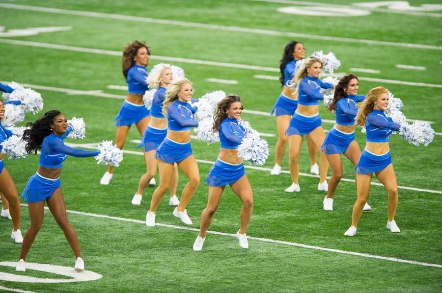 the lions cheerleaders come - photo #48