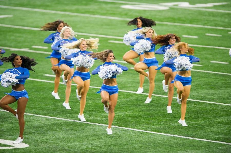 the lions cheerleaders come - photo #39