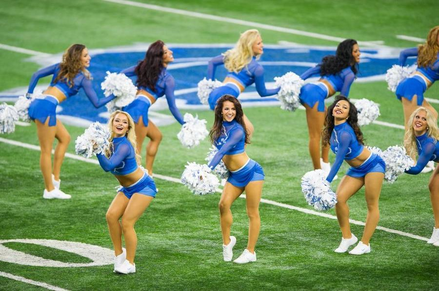 the lions cheerleaders come - photo #3