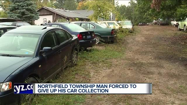 northfield township orders 74 year old man to get rid of car collection. Black Bedroom Furniture Sets. Home Design Ideas
