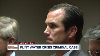 Flint Water Crisis criminal case hits courtroom