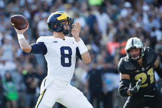 John O'Korn to start for Michigan against MSU