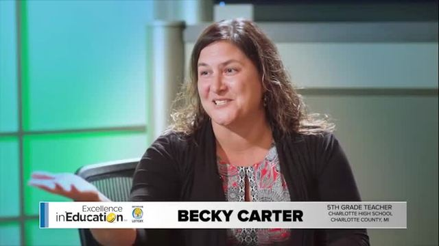 Excellence in Education - Becky Carter