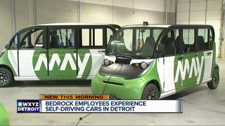 Self-driving shuttles begin in Detroit on Monday