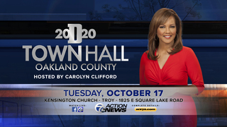 WATCH: Detroit 2020 Town Hall in Troy
