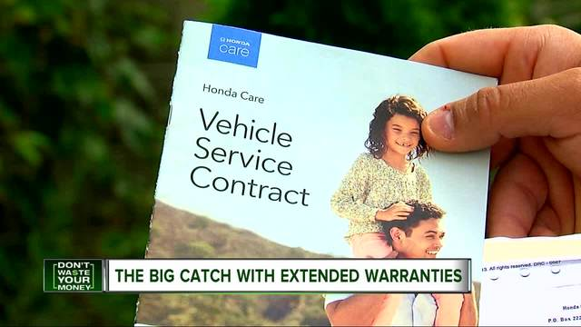 High Quality The Big Catch With Many Car Extended Warranties   WXYZ.com