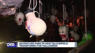Haunted Forest attracts Halloween crowds