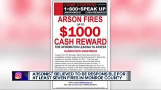 Arsonist striking Monroe County before Halloween