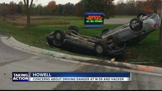 Concern over intersection after Howell accident