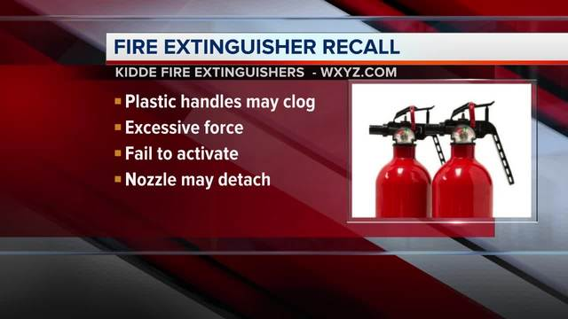 378M fire extinguishers made over 44 years recalled One death