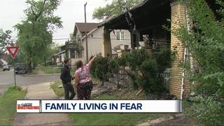 Witness intimidation sends family into hiding