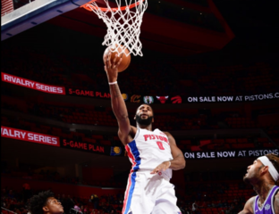 Andre Drummond powers Pistons past Kings