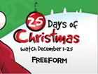 Freeform unveils '25 Days of Christmas' schedule