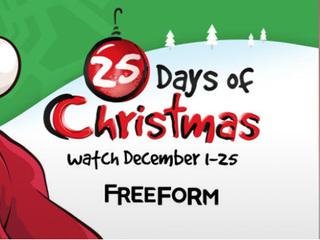 Freeform unveils '25 Days of Christmas' schedule