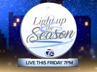 Watch 'Light up the Season' special on WXYZ