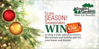 'Tis the season! Sweepstakes