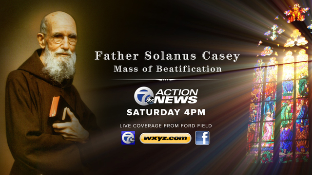 WATCH LIVE: Fr. Solanus Casey beatification