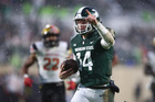 Michigan State beats Maryland in the snow