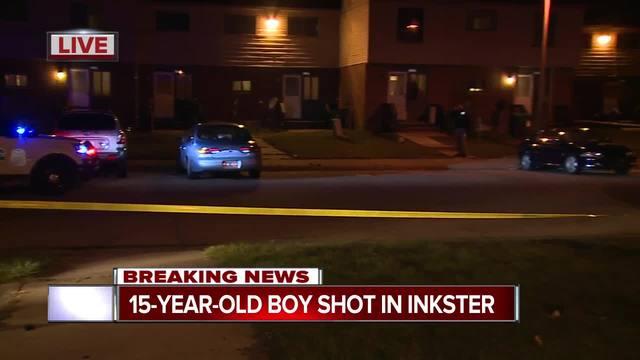15-year-old boy shot in Inkster
