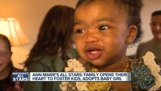 Local family with 5 children adopt girl