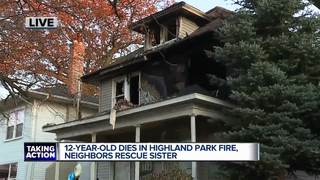 Neighbors tried to save boy who died in fire