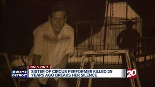 Murdered circus star's sister helps free man