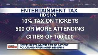 Entertainment tax proposed for 1st responders