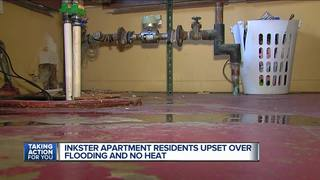 Local renters have flooded apartments, no heat