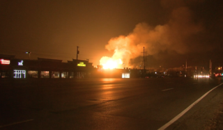PHOTOS: Massive explosion, fire in Orion Twp