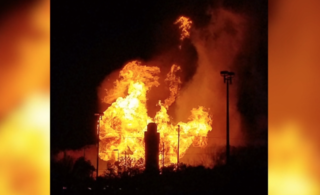 PHOTOS: Explosion, massive fire in Orion Twp