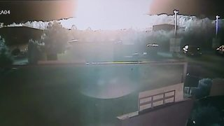 Video shows explosion & fire in Orion Twp.
