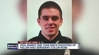 Collin Rose remembered at vigil one year later