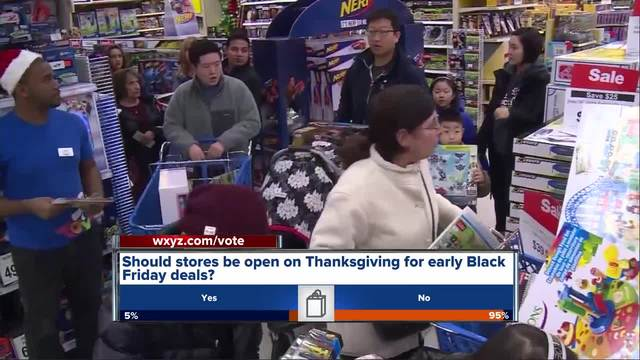 Stores opening early for Black Friday deals