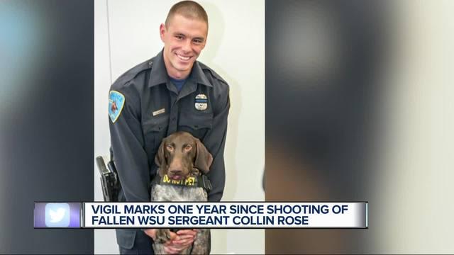 Collin Rose remembered at vigil