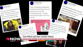 Troy PD Twitter account gets attention