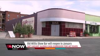 Old Willis Show Bar will reopen in Detroit