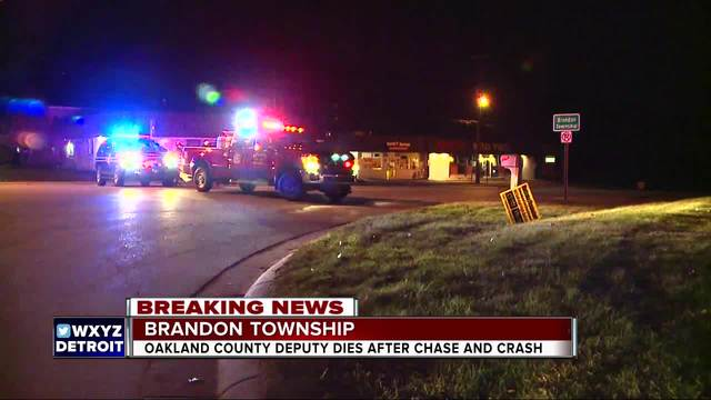 Oakland County Deputy killed in pursuit