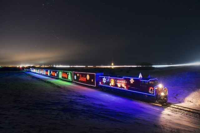 Holiday Train rolls through the North Country, bringing cheer and donations