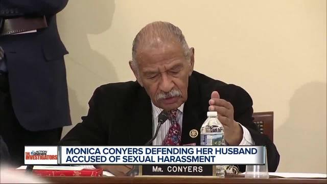 John Conyers Wife >> John Conyers Son & Wife Denounce Allegations of Misconduct - WXYZ.com