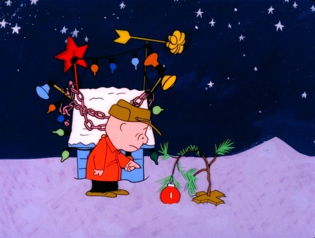 A charlie brown christmas airs tonight on channel 7 wxyz a charlie brown christmas when charlie brown complains about the overwhelming materialism he sees amongst everyone during the christmas season voltagebd Choice Image