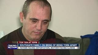 Man says his deportation could kill his wife