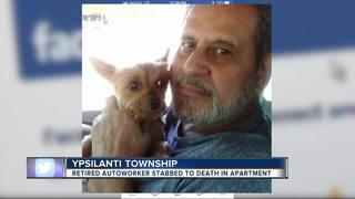 Retired GM worker found stabbed to death