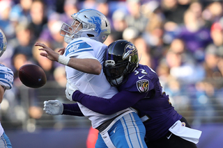 Stafford injured in Lions loss to Ravens