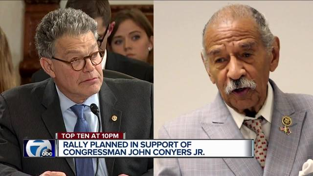 Rally planned in support of Rep. John Conyers