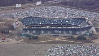 Watch the successful Silverdome implosion