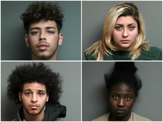 Four accused of attacking police deputy