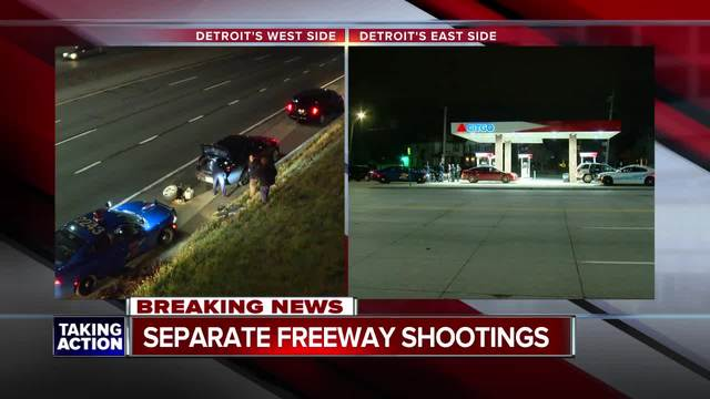 Police investigating highway shootings on I-94, I-96 in Detroit