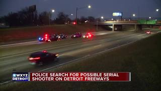 Fourth shooting reported on Detroit highway